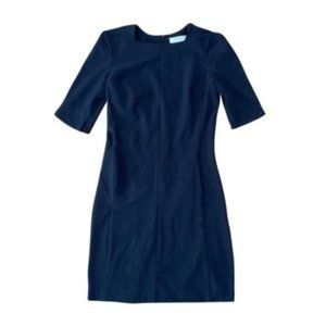 M.M. Lafluer Navy Professional Conservative Dress